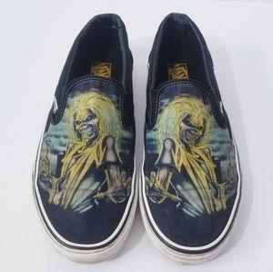 "VANS Iron Maiden ""Killers"" Shoes Mens 9"